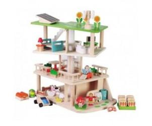 Maison écologique rotative