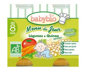 MENU BIO Légumes Quinoa 200 g dès 8 mois