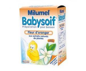 Milumel babysoif fleur d'oranger
