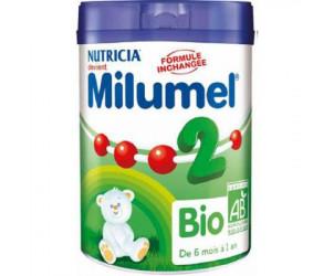 Lait Milumel bio 2eme âge 900 g