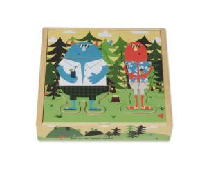 Puzzle bois Mon petit Dressing