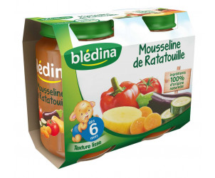Pot Mousseline Ratatouille 2x200g