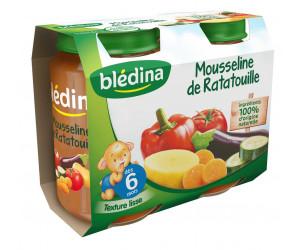 Pot Mousseline Ratatouille 2x200g