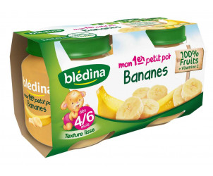Mon 1er Petit Pot Bananes 2x130g