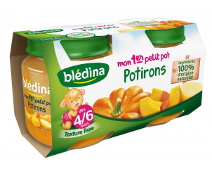 Mon 1er Petit Pot Potirons 2x130g