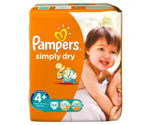 PAMPERS Simply Dry T4+ Maxi plus