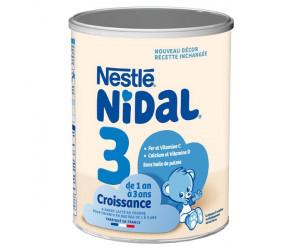 Lait 3ème âge NIDAL Croissance 800g