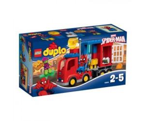 Super Heroes : L'aventure de Spider-Man en camion araignée Duplo