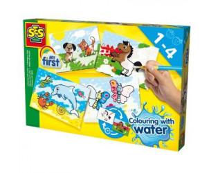 Coloriage à l'eau