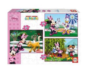 Puzzle 3 en 1 Minnie
