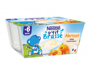 P'tit Brassé Abricot (4x100g)