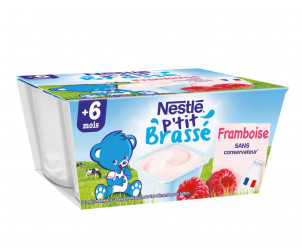 P'tit Brassé Framboise (4x100g)
