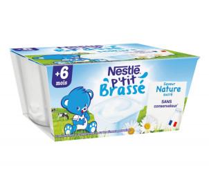 P'tit Brassé Nature (4x100g)
