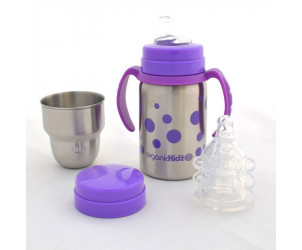Kit évolutif biberon tasse - goulot large 270 ml