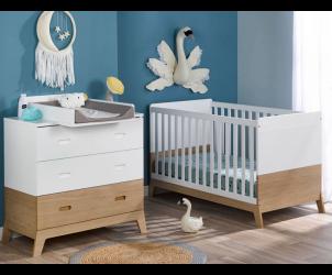 Petite chambre bébé Archipel