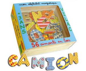 Magnets alphabet magnétique