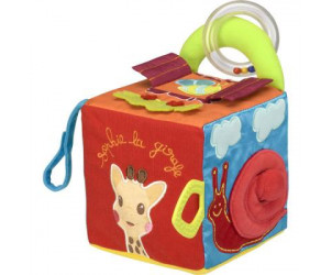 Sensitive cube Sophie la girafe