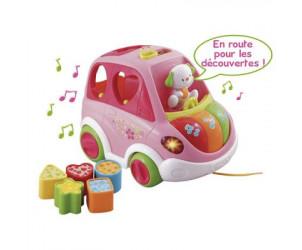 Baby Vroum auto boite à formes