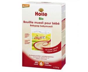 Bouillie de muesli pour bébé