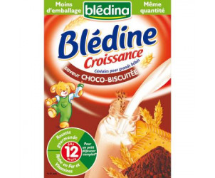 Bledine croissance choco biscuitée 500g dès 12 mois (avec gluten)