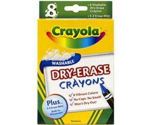 Crayons cire effaçables