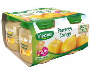 Pot Pommes Coings 4x130g