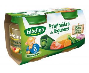 Pot Printanière de légumes 2x130g