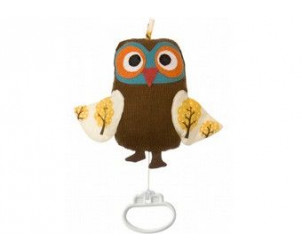 Peluche musicale Owl