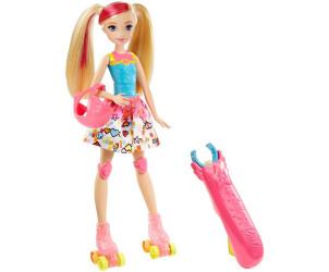 Poupée Barbie rollers lumineux