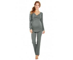 Pyjama de grossesse et d'allaitement Florels