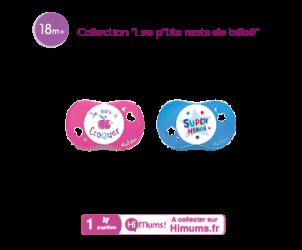 Sucette 'Les Petits mots de bébé' +18 mois