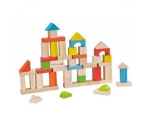 Seau de 50 cubes en bois