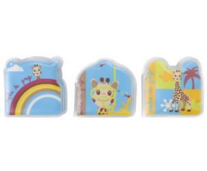 Set de 3 petits livres de bain Sophie la girafe