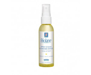 Spray d'huile d'amande douce