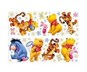 Stickers décor Winnie (x54)