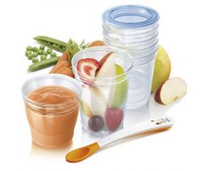 Kit pots de conservation aliments