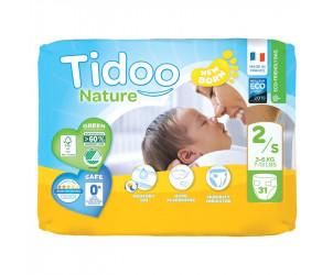 Couches écologiques Tidoo T2 Single (3-6Kg)
