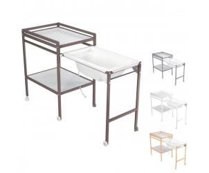 Table langer avec baignoire bebe 9 avis - Table a langer avec baignoire integree ...