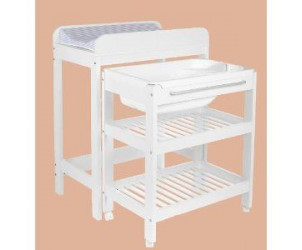 Dimension table a langer avec baignoire table de lit - Lit de bebe avec table a langer integree ...