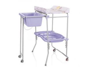 Table à langer avec baignoire Lido