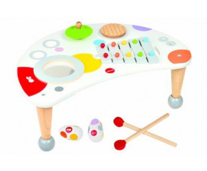 Table musicale confetti