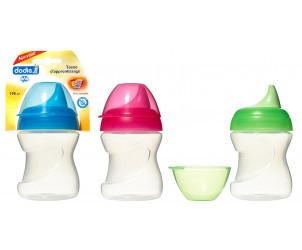 Tasse d'apprentissage (6-12 mois) avec bec souple (190 ml)