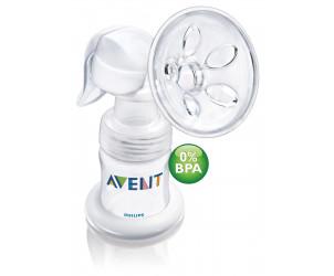 Tire-lait manuel + biberon sans BPA