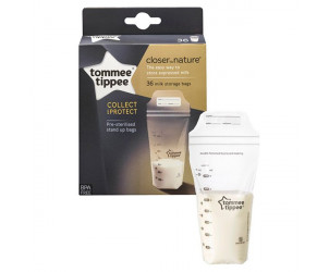 Sachets de conservation lait maternel