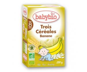 3 céréales Banane