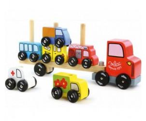 Camion en bois - Empil'Auto