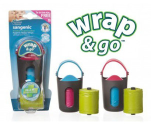 Distributeur sacs à couches Wrap & Go