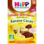 Céréales Bananes Cacao - 1 boîte x 250g - dès 8 mois