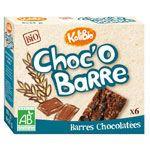 Choc'o barre - barre céréales 6x25 g (kalibio)