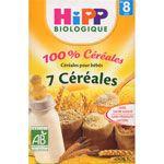 Petits déjeuners 100% Céréales - 7 céréales dès 8 mois